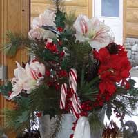 Holiday Florals and Decor