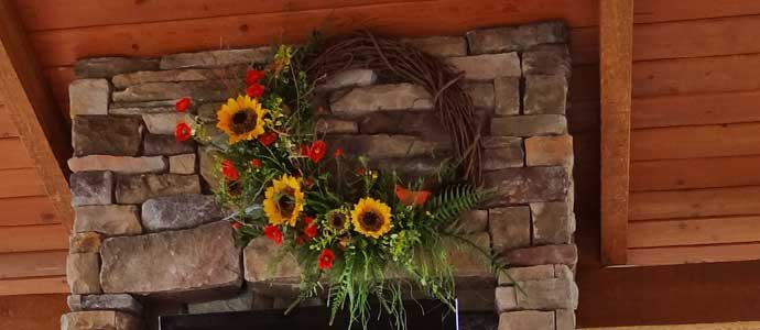 Custom Outdoor Wreaths